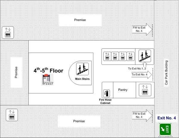 4th - 5th Floor